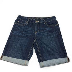 Simply Vera/ Vera Wang Roll Cuff Denim Shorts